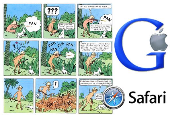 Google (et d'autres) chasse(nt) sur les terres du Safari d'Apple