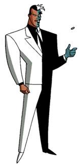 Le personnage de Double-Face dans Batman