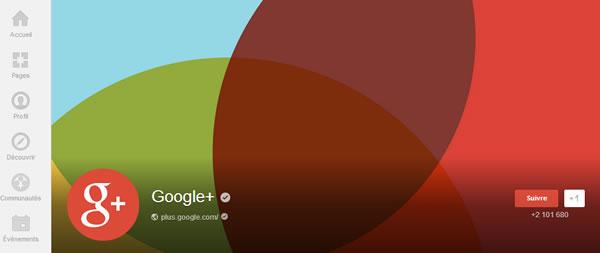 photos du profil Google+