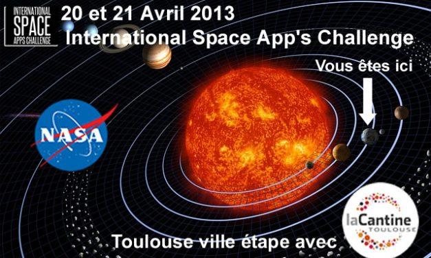 Space App's Challenge: les toulousains ne sont pas dans la lune