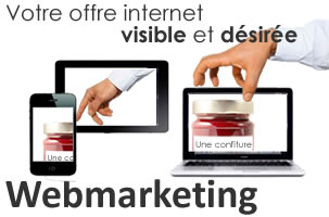 Illustration du webmarketing
