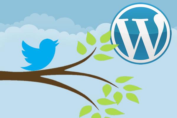 Timeline Twitter dans WordPress