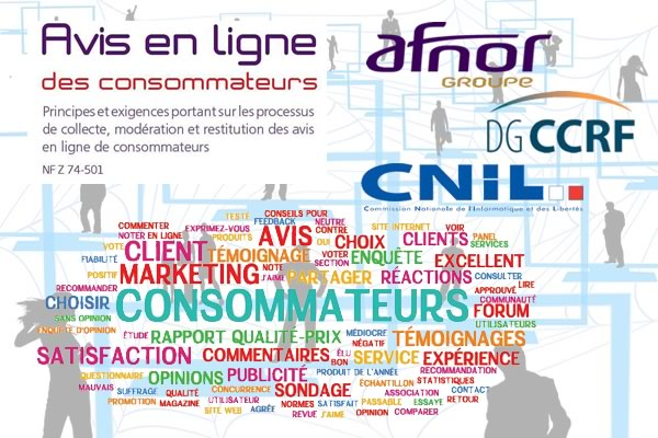 Nouvelle norme AFNOR NF Z 74501 sur les avis en ligne des consommateurs