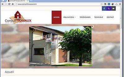 Nouveau site sous WordPress: consulttravaux.com