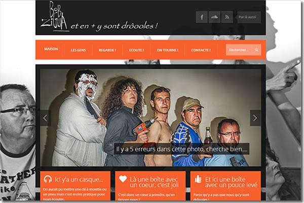 Le site du groupe BobZiGua