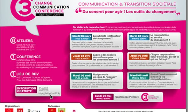 Toulouse 3C, communication du changement: c'est reparti!