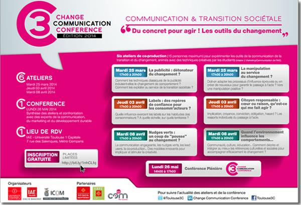 Toulouse 3C 2014 : le programme