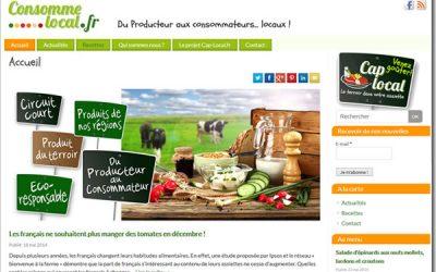 Consomme-local.fr: cap sur les producteurs locaux !