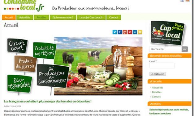 Consomme-local.fr, blog sur la consommation locale
