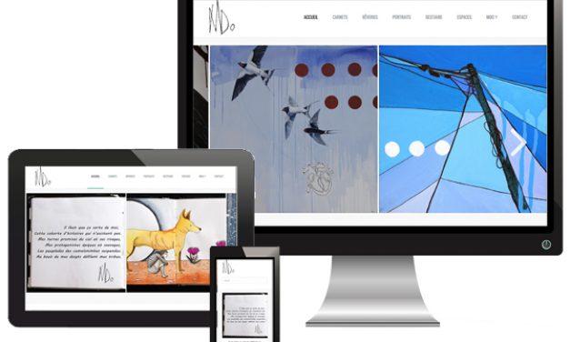 Art-mdo.com – site artiste graphiste