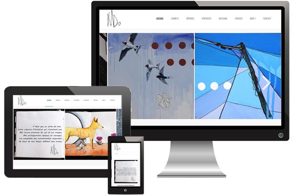 Création site art-mdo.com