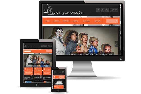 Création site bobzigua.com