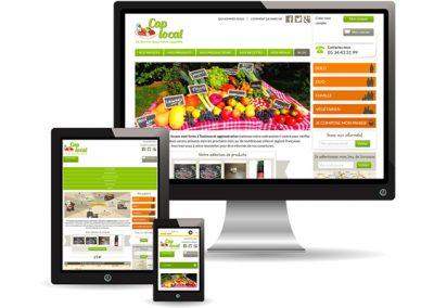 Cap-local.fr, site de vente de paniers producteurs