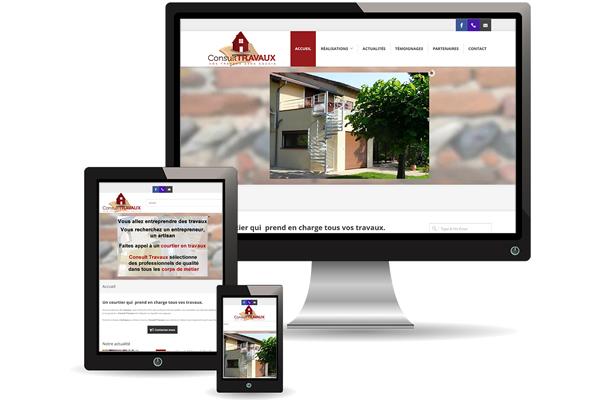 Création du site consulttravaux.com