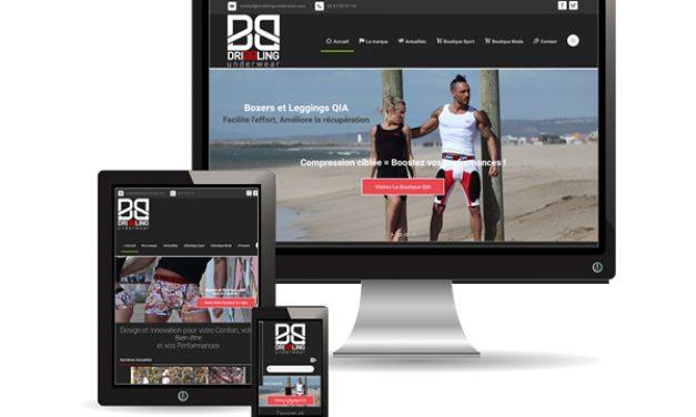 Dribbling-underwear.com, site institutionnel