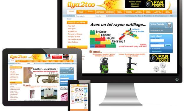Ilya2too.com, site e-commerce