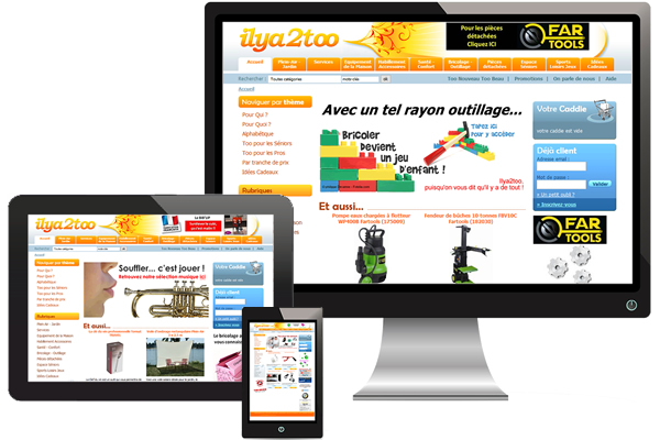 Création site Ilya2too