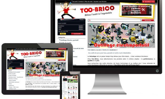 Too-brico.com, site de vente de bricolage