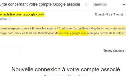 Google antispam, attention aux erreurs